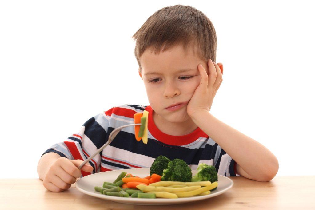 школьник не хочет кушать