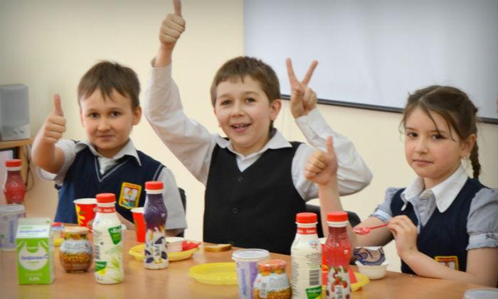школьники и правильное питание