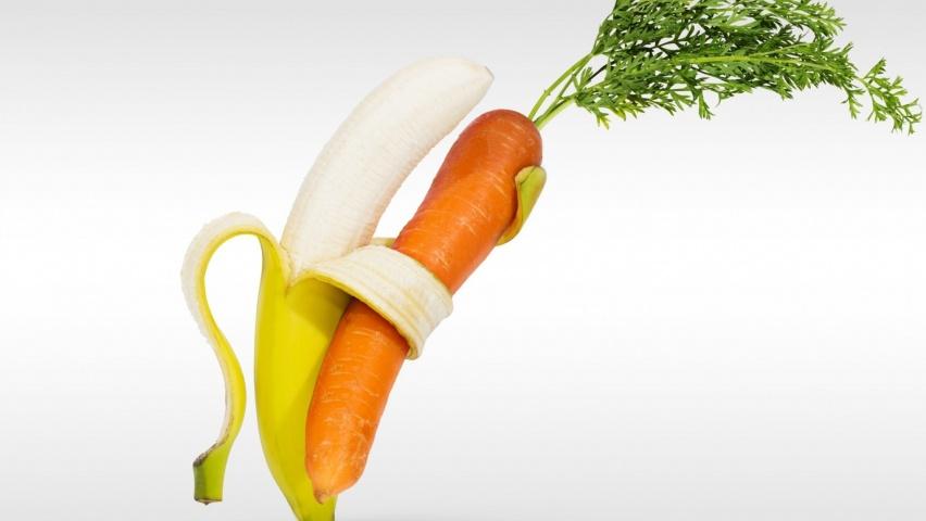 морковь и банан при изжоге