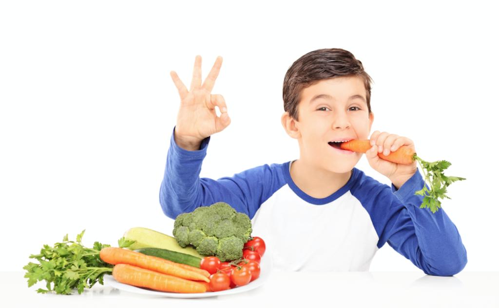 подростку полезны овощи и фрукты