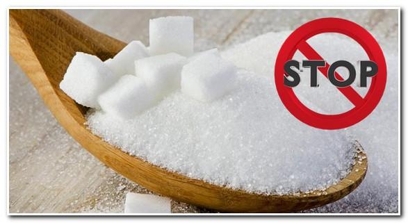 запрет сахара